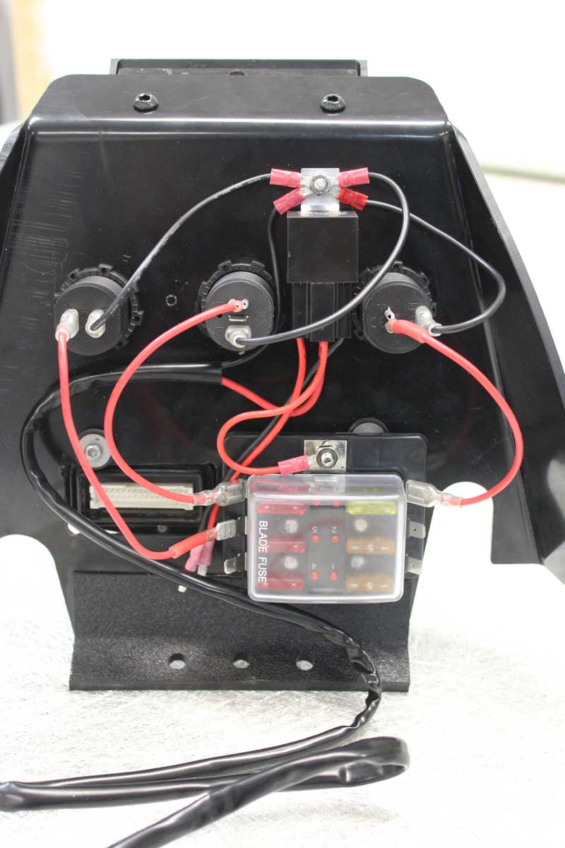 The fuse box harness relay is activated when the ignition is switched on  and the wiring is entirely 'plug 'n play'. The kit includes double  terminals to ...