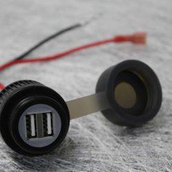Twin USB Socket